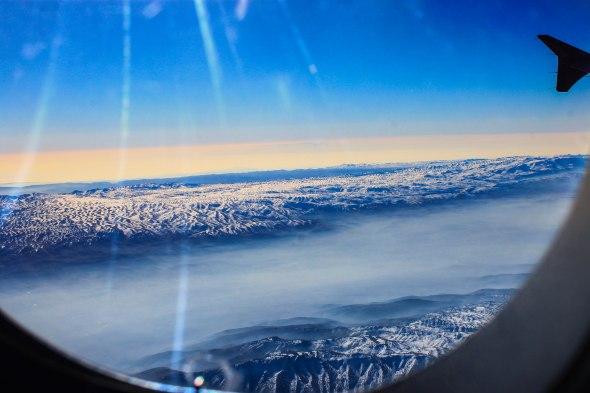 Taken in the sky of Beirut, Lebanon
