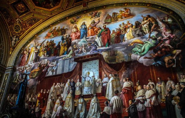 Taken in Vatican