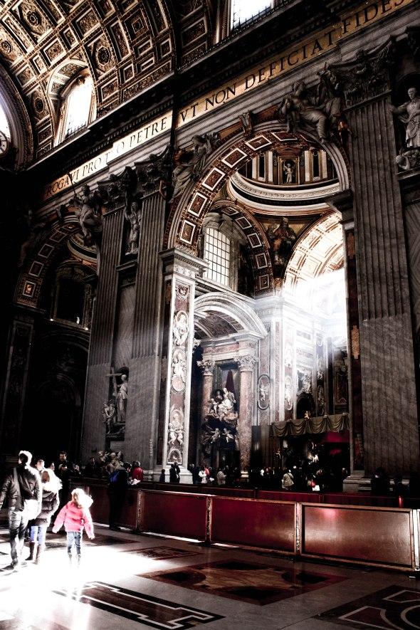 Taken at St.Peter's, Vatican, Italy.